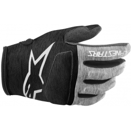 ALPINESTARS YOUTH RACER GLOVES 2020: ATLANTIC/EMERALD/CELERY M