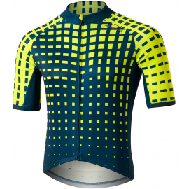 ALTURA ICON SHORT SLEEVE JERSEY - BAMBOO 2020: BLUE/YELLOW XL