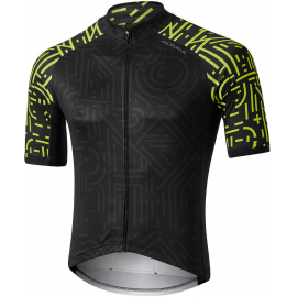 ALTURA ICON SHORT SLEEVE JERSEY - OSAKA 2020: BLACK/YELLOW XL