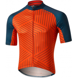 ALTURA ICON SHORT SLEEVE JERSEY - TESSALATE 2020: ORANGE/BLUE XL