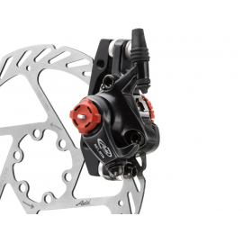 AVID BB7 - MTB - GRAPHITE - 160MM G2CS ROTOR (FRONT OR REAR-INCLUDES IS BRACKETS ROTOR BOLTS):  160MM