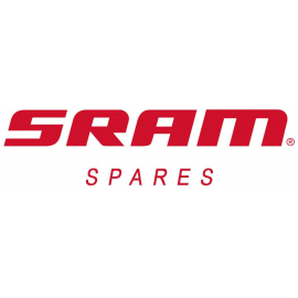 SRAM SPARE - DISC BRAKE CALIPER ASSEMBLY RED ETAP HRD FLAT MOUNT FRONT/REAR FALCON GREY: