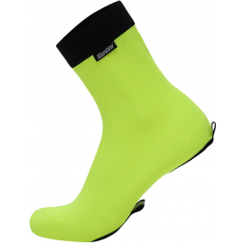 SANTINI 365 LYCRA TT SHOE COVERS: YELLOW XS/S