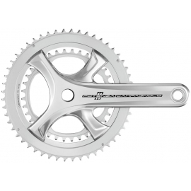 CAMPAGNOLO POTENZA(HO) CHAINSET ULTRA TORQUE 11 SPEED 172.5MM 53-39T(COMPATIBLE ONLY WITH PO11 HO EP18):172.5MM 53-39T