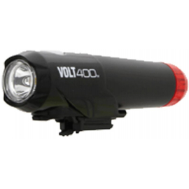 CATEYE VOLT 400 DUPLEX FRONT/REAR HELMET USB RECHARGEABLE LIGHT: