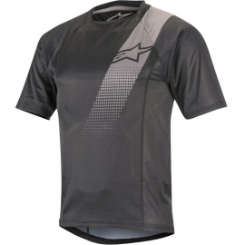 ALPINESTARS JERSEY - TRAILSTAR V2 SS JERSEY 2019: BLACK GREY XL