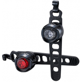CATEYE ORB RECHARGEABLE FRONT & REAR LIGHT SET: