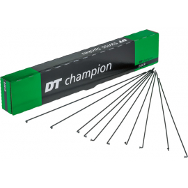Champion black spokes 14g = 2mm box 100  180 mm