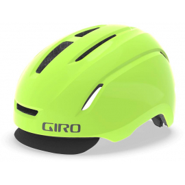 GIRO CADEN LED URBAN HELMET 2019: MATTE HIGHLIGHT YELLOW S 51-55CM