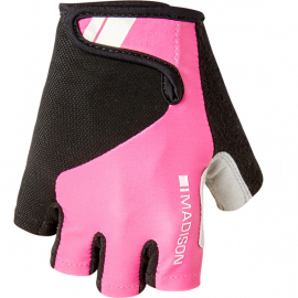 Keirin women's mitts  pink glo X-small