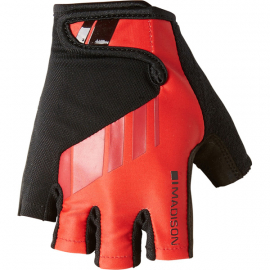 Peloton men's mitts  flame red small