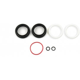 ROCKSHOX SPARE -  FORK DUST WIPER UPGRADE KIT - 32MM BLACK FLANGELESS ULTRA-LOW FRICTION SKF SEALS (INCLUDES DUST WIPERS & 4MM FOAM RINGS) - BLUTO/RS-1/SID B1 (2017+)/32MM BOOST? FORKS 2021: