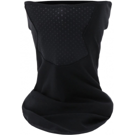 SANTINI 365 COLLO NECK WARMER: BLACK ONE SIZE