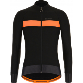 SANTINI AW21 MEN'S ADAPT WOOL LONG SLEEVE JERSEY 2020:S