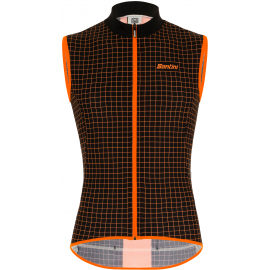 SANTINI AW21 MEN'S NEBULA WINDPROOF AND RAIN RESISTANT SKIN VEST 2020:M
