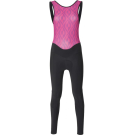 SANTINI FASHION CORAL WOMEN'S BIB-TIGHTS 2018:XL