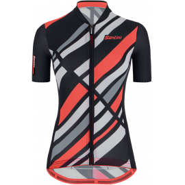 SANTINI SS21 WOMEN'S ECO SLEEK RAGGI SHORT SLEEVE JERSEY 2021:L