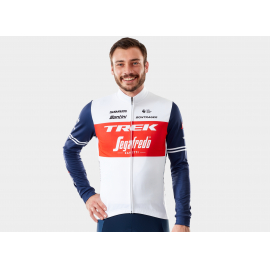 Trek-Segafredo Men's Team Replica LS Race Cycling Je