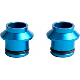 HUSKE 15x100mm Thru-Axle Plugs (Blue)