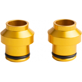 HUSKE 15x110mm Thru-Axle Plugs (Gold)