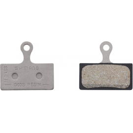 G03S disc brake pads steel backed resin