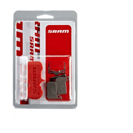 SRAM BRAKE PADS ORGANIC/ALUMINUM (INCLUDES GUIDE PIN  CLIP &PAD SPREADER) - LEVEL ULTIMATE/TLM: