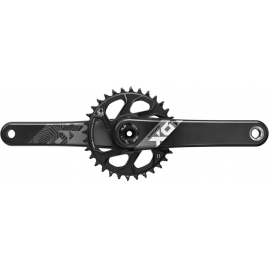 SRAM CRANK X01 EAGLE FAT BIKE 4 DUB 12S W DIRECT MOUNT 30T X-SYNC 2 CHAINRING (DUB CUPS/BEARINGS NOT INCLUDED):175MM