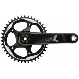 SRAM FORCE1 CRANK SET GXP 170MM W/ 42T X-SYNC CHAINRING (GXP CUPS NOT INCLUDED):