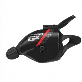 SRAM SHIFTER GX TRIGGER 11 SPEED REAR W DISCRETE CLAMP RED:11 SPEED