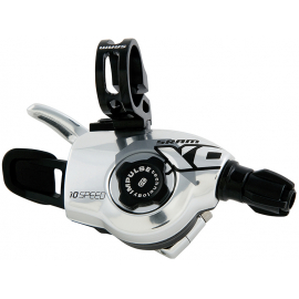 SRAM X0 SHIFTER - GRIP SHIFT - SET 2X10 - INC. LOCK-ON GRIPS - RED:
