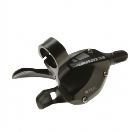 SRAM X5 SHIFTER - TRIGGER -REAR - BLACK:  10 SPEED